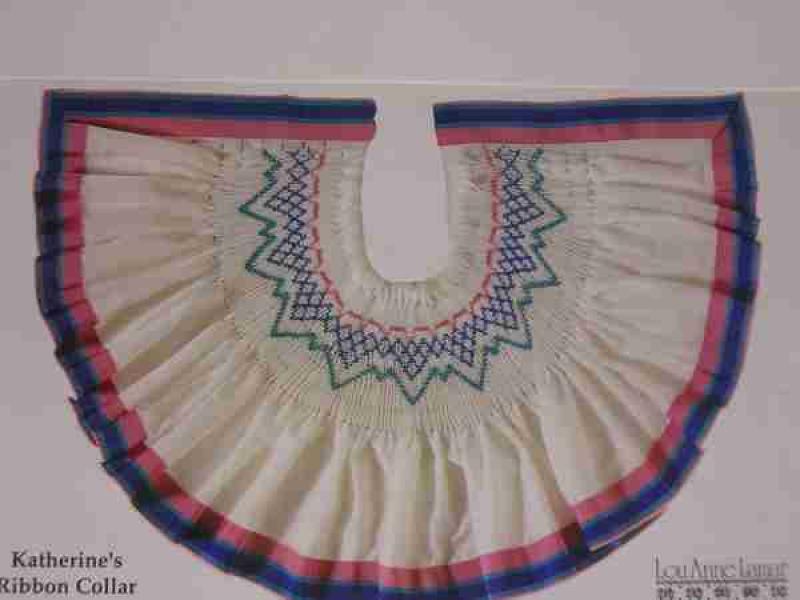 Lou Anne Lamar Katherine's Ribbon Collar