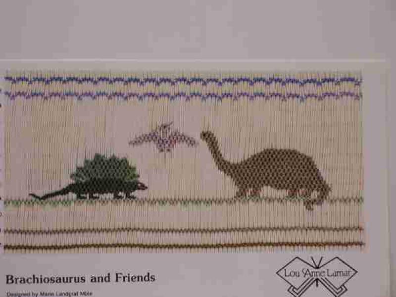 Lou Anne Lamar Brachiosaurus and Friends