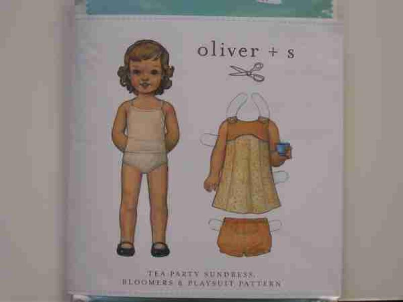 Oliver + S -Tea Party Sundress Bloomers and Playsuit