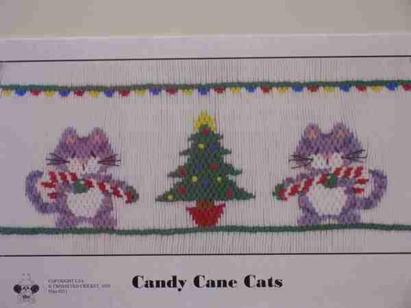 Crosseyed Cricket Candy Cane Cats