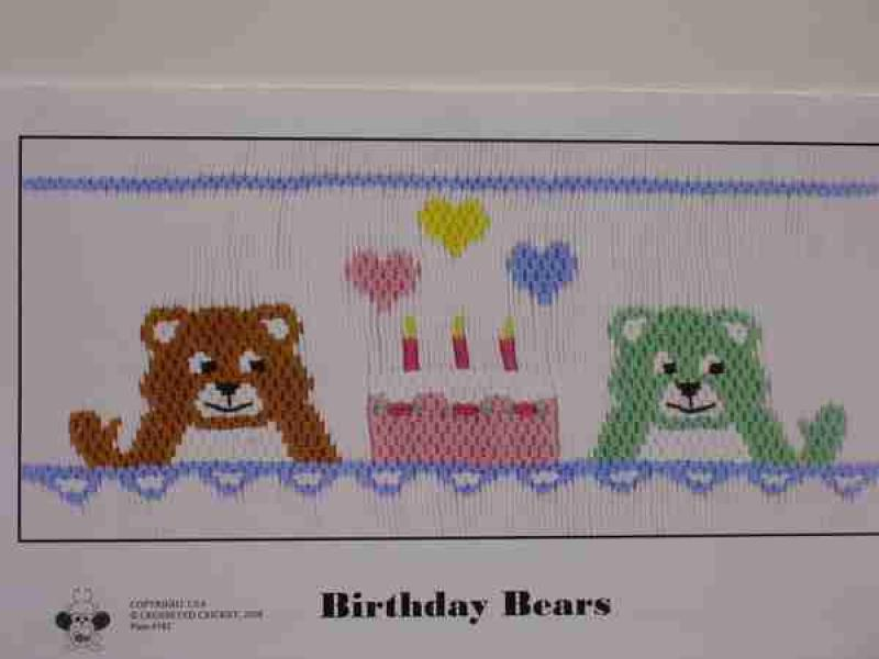 Crosseyed Cricket Birthday Bears