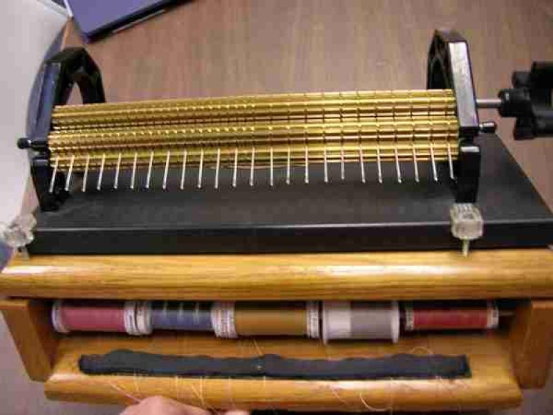 Smock'n'Genie 24 row thread dispenser for Amanda Jane or Stanley pleater