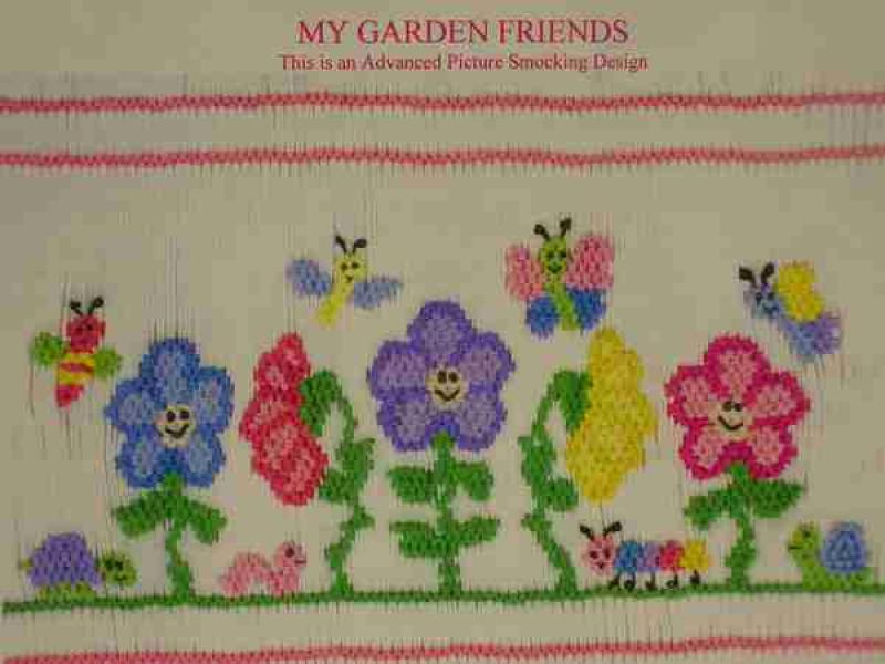 Junebug Designs - MY GARDEN FRIENDS