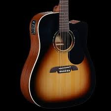 Alvarez Regent Dreadnought Acoustic Electric w/Cutaway and Deluxe Gigbag