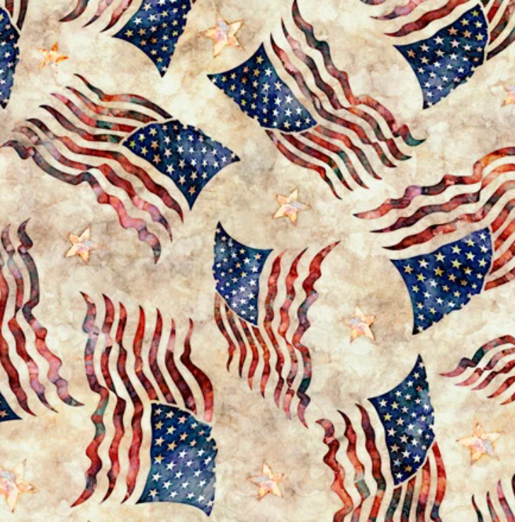 Liberty, Glory, Freed by Quilting Treasures (1649-28144-E)