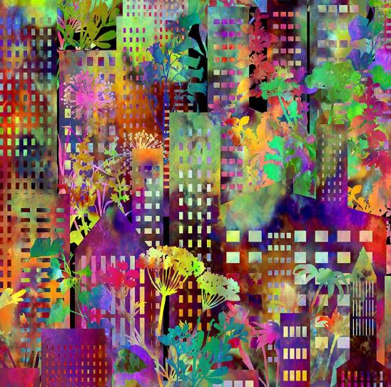 Urban Jungle by In The Beginning Fabrics (2UJ 1)