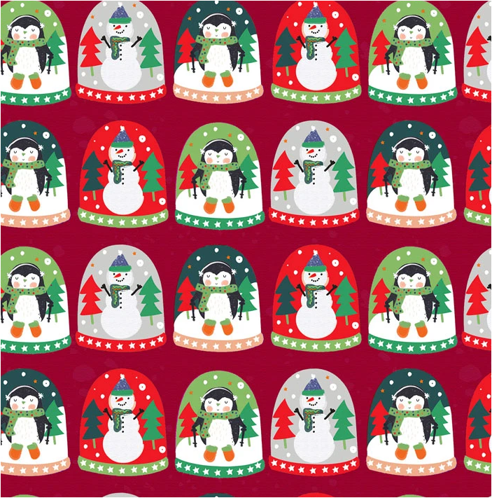 Christmas Miniatures by P&B Textiles (4458-R)