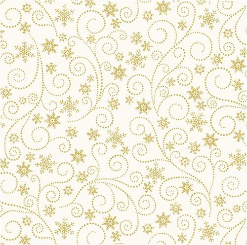 Swirling Frost Natural (Winter Elegance) by Benartex (836M-09)