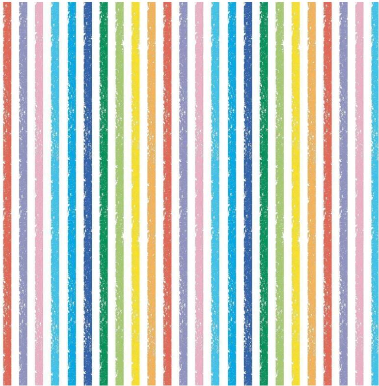 Crayola Stripe (Multi) by Riley Blake Designs (C685-MULTI)