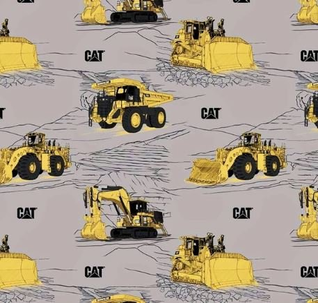 CAT Main Gray by Riley Blake Designs (C9100-GRAY)