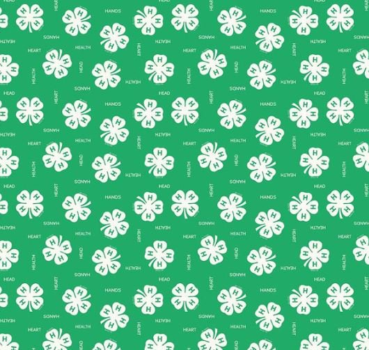 4-H Clover Green by Riley Blake Designs (C9121-GREEN)
