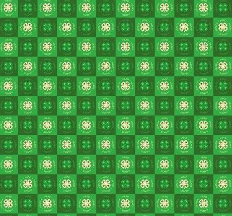 4-H Green Clover by Riley Blake Designs (C9123-GREEN)