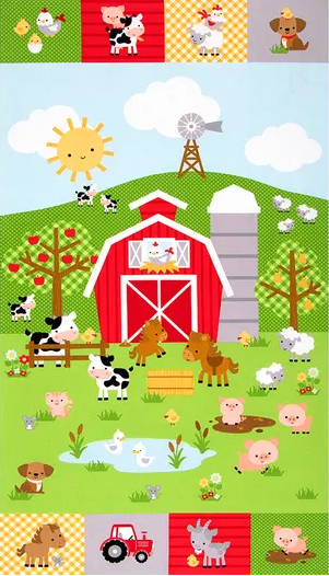 Down on the Farm Panel by Riley Blake Designs (P10076-PANEL)