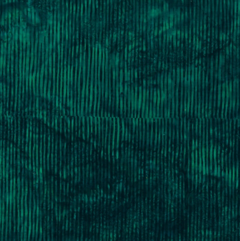 Bali Batik (Skinny Stripes Deep Emerald) by Hoffman Fabrics (R2289-702-DEEP EMERALD)