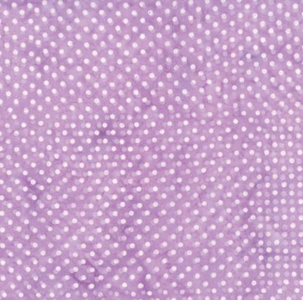 Bali Batik (Polka Dot Lilac) by Hoffman Fabrics (S2322-30-LILAC)
