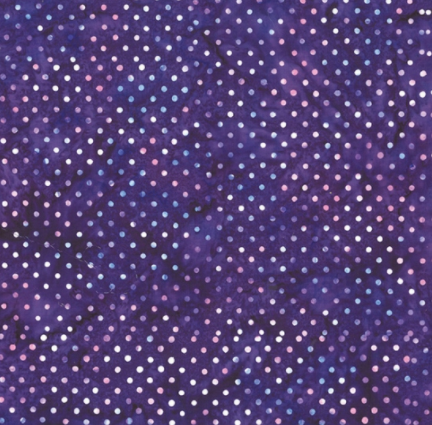 Bali Batik (Polka Dot Lilac) by Hoffman Fabrics (S2322-81-VIOLET)