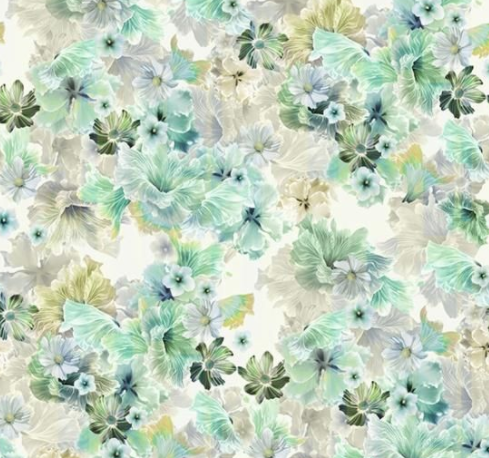 Garden State of Mind (Cypress) by Hoffman Fabrics (S4756-580-CYPRESS)