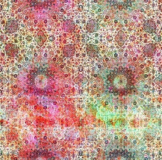 Floral Rhapsody by Hoffman Fabrics (S4760-TUTTI-FRUITI)
