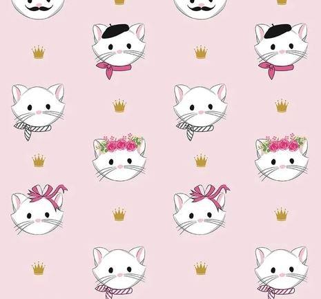 Chloe & Friends by Riley Blake Designs (SC8910-PINK)