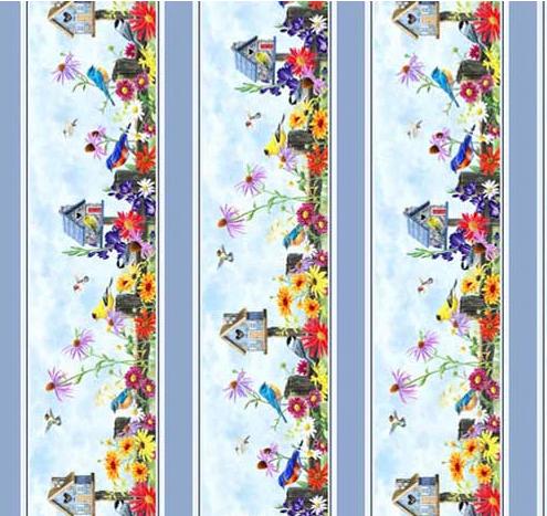 Song Birds by P&B Textiles (SONB-4321-MU)