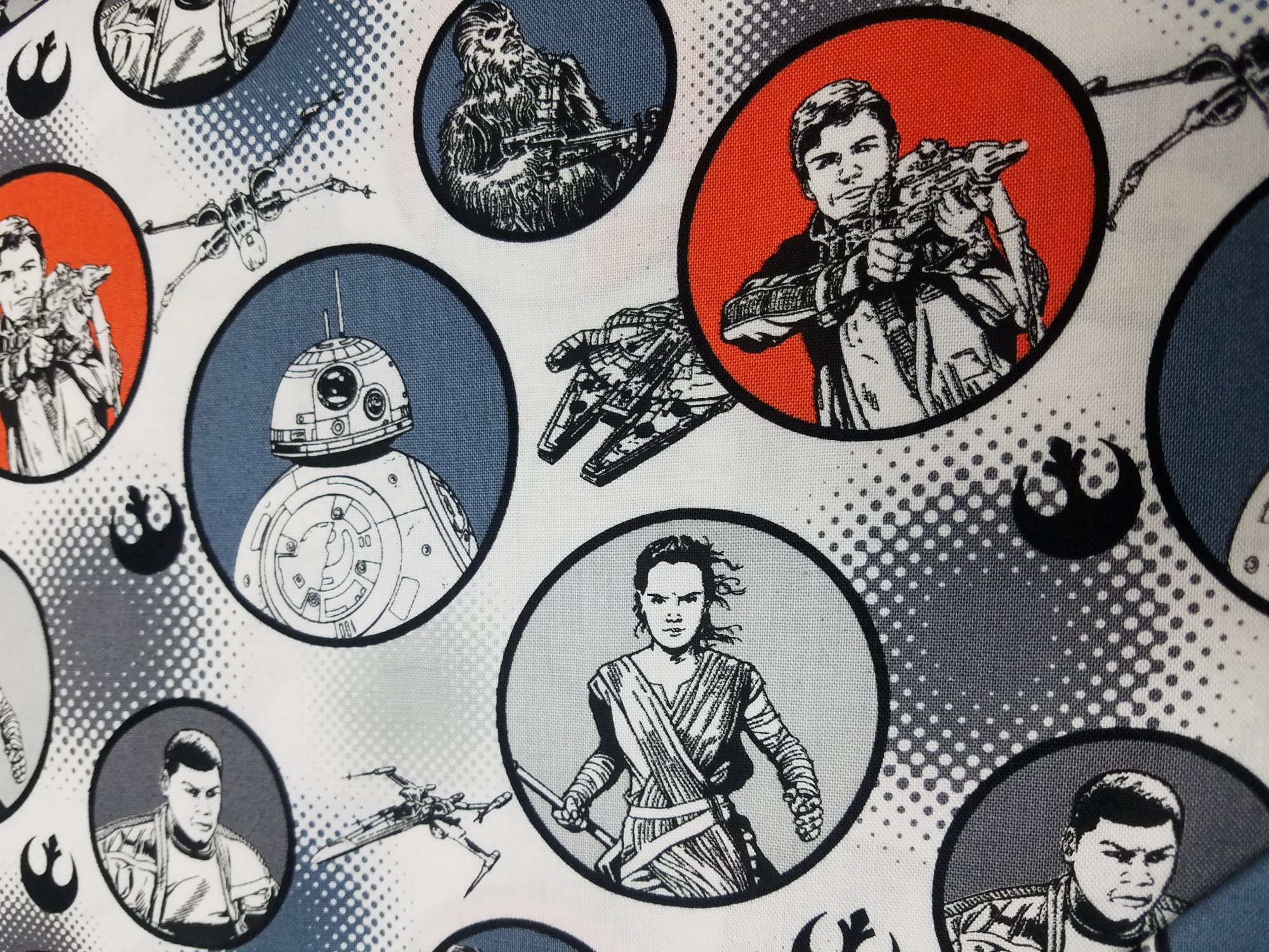 Stars Wars The Force Awakens by Camelot Fabrics (7360105-03)
