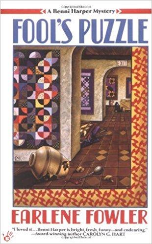 Fool's Puzzle novel by Earlene Fowler - hardback