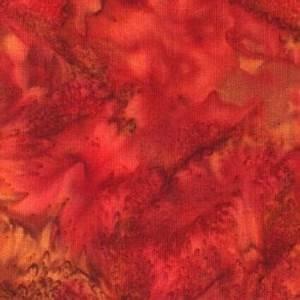 Hoffman Bali Watercolors Pomegranite 1895 381