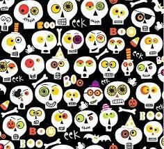 Clothworks Bonehead 2169-3 Black