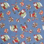 Cozy Critters by Wilmington Prints 11163-427