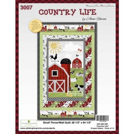 Country Life Kit 38 1/2 x 64 1/2