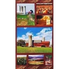 On The Farm Panel Benartex/American Spirit 01350 99