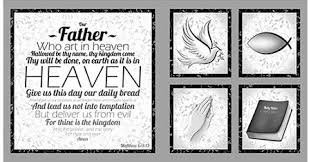 Quilting Treasures Our Father PANEL 24224-K