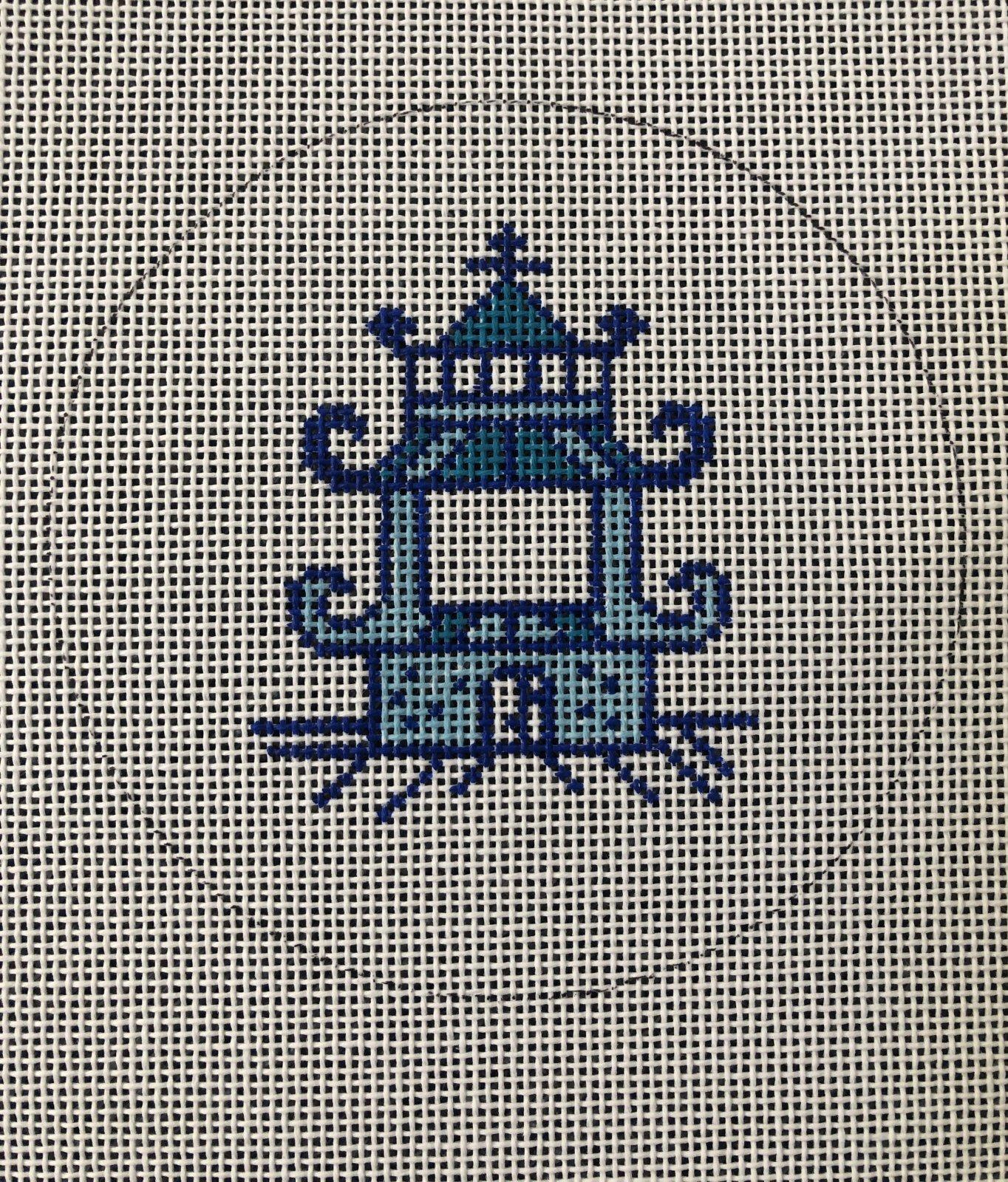 Pagoda Round by Jessica Tongel