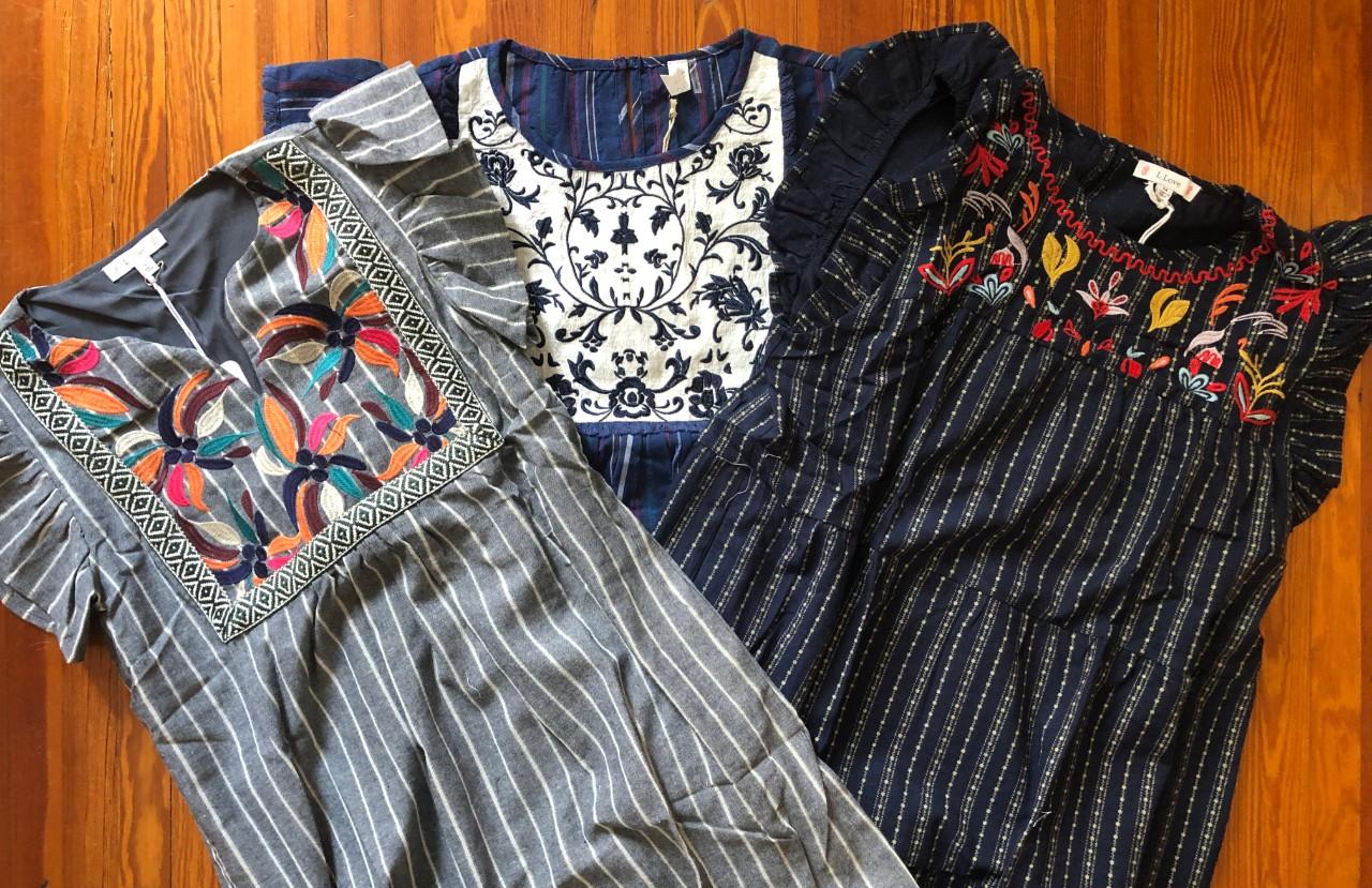Flattering dresses for all seasons