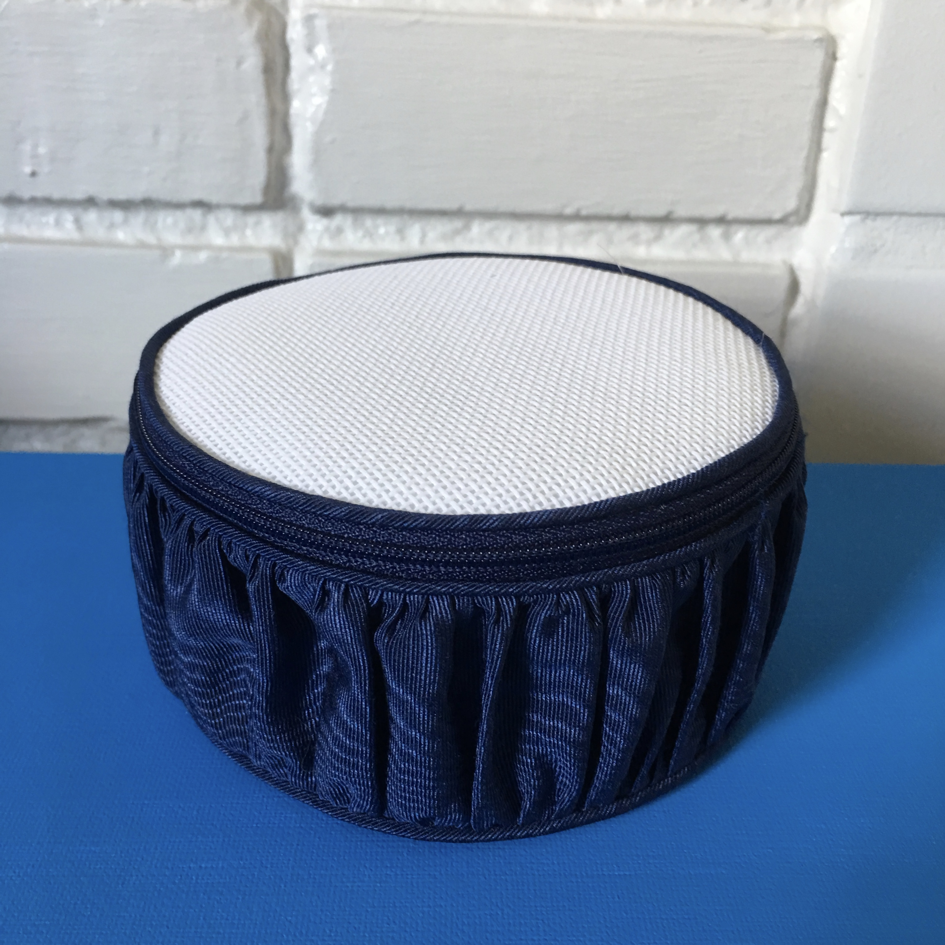 Silk Jewelry Box - Navy