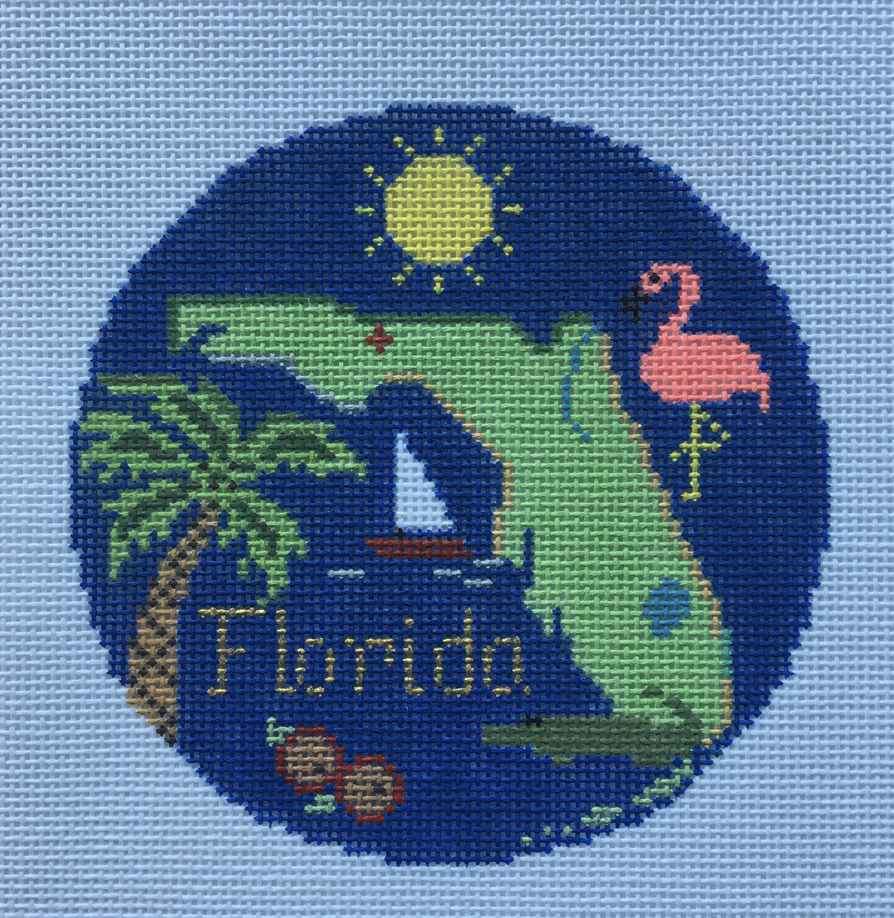 Travel Round - Florida by Silver Needle