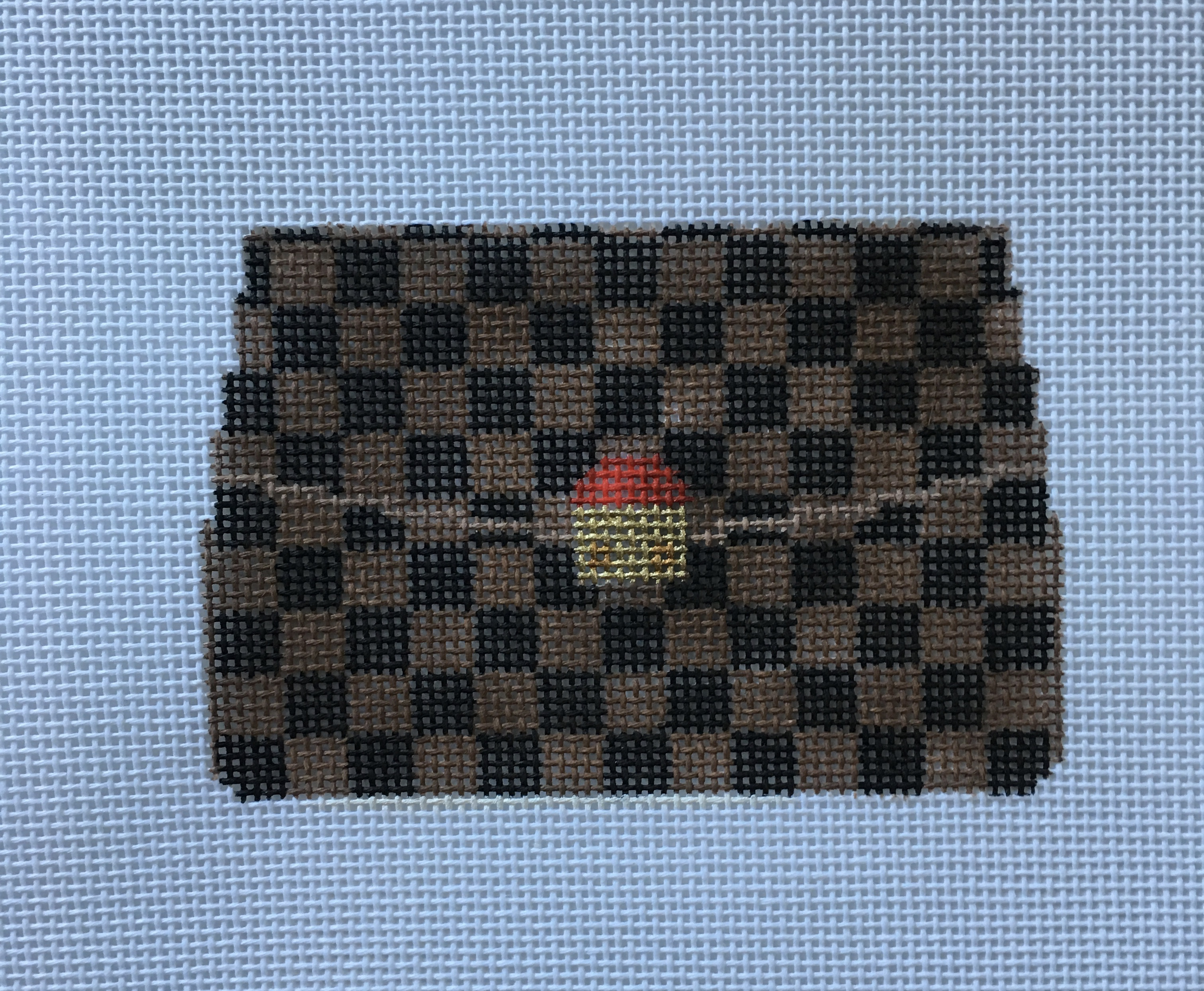 Mini Purse Ornament - LV inspired