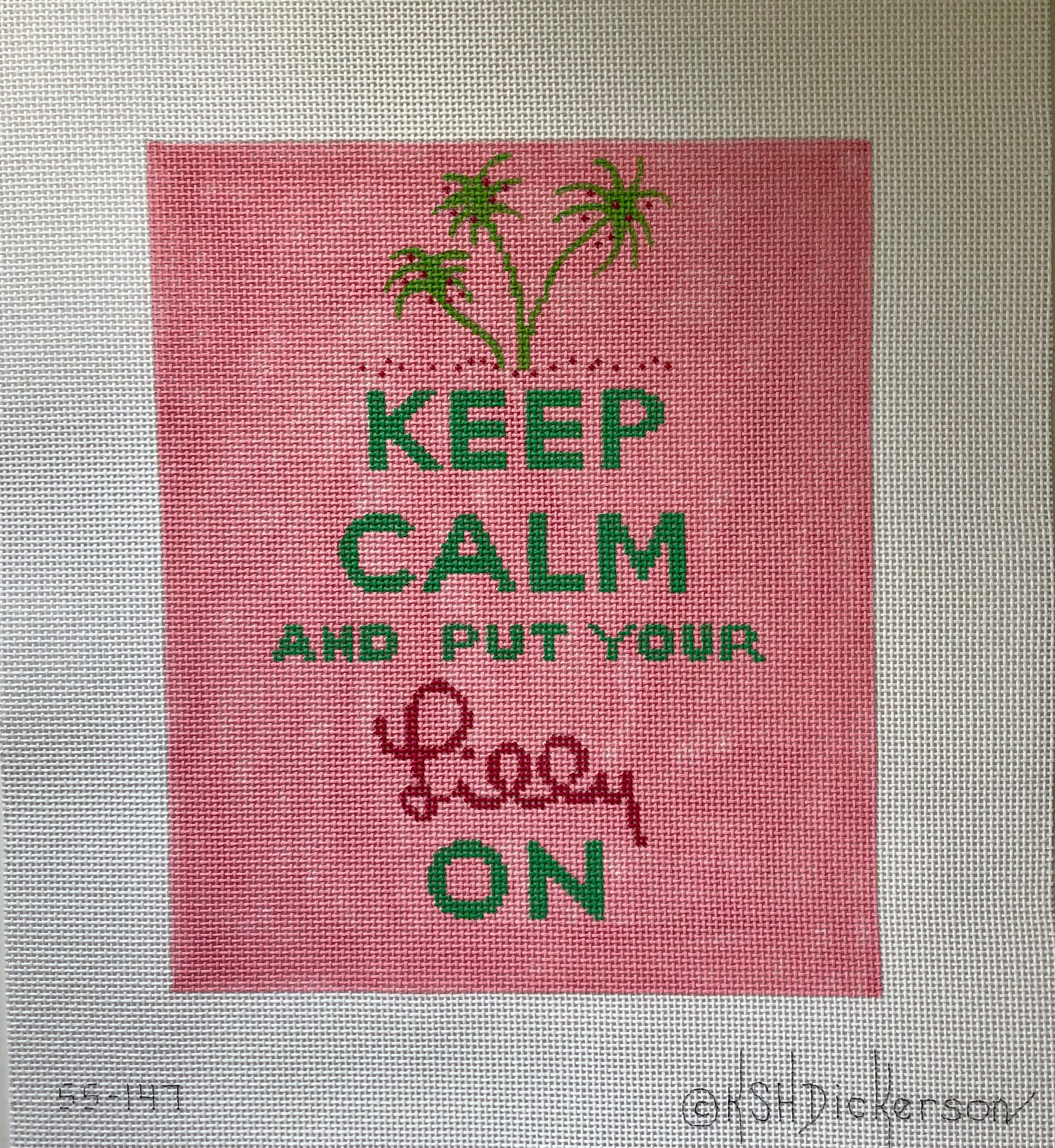 Kate Dickerson - Keep Calm & Put Your Lilly On