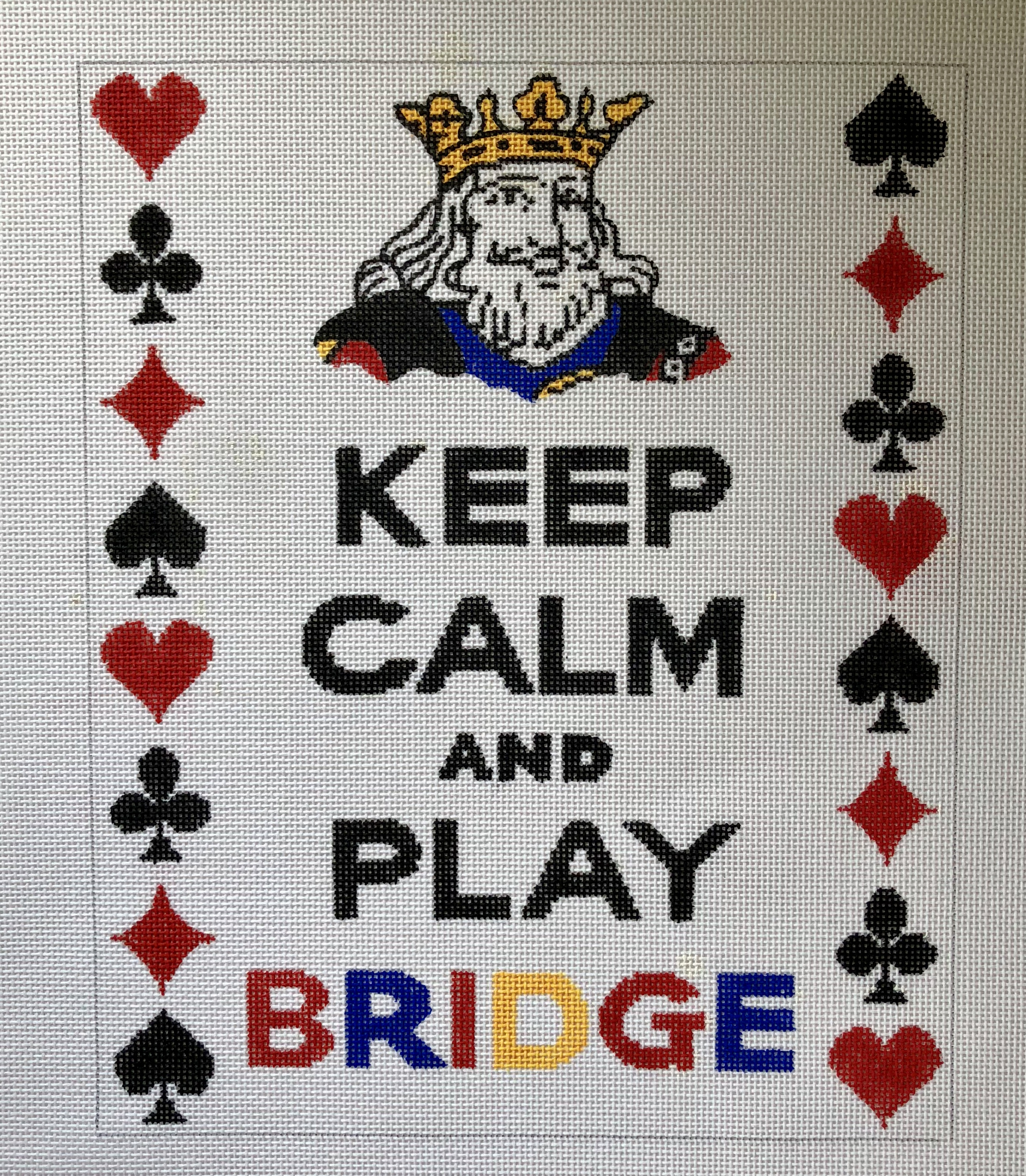 Kate Dickerson - Keep Calm and Play Bridge