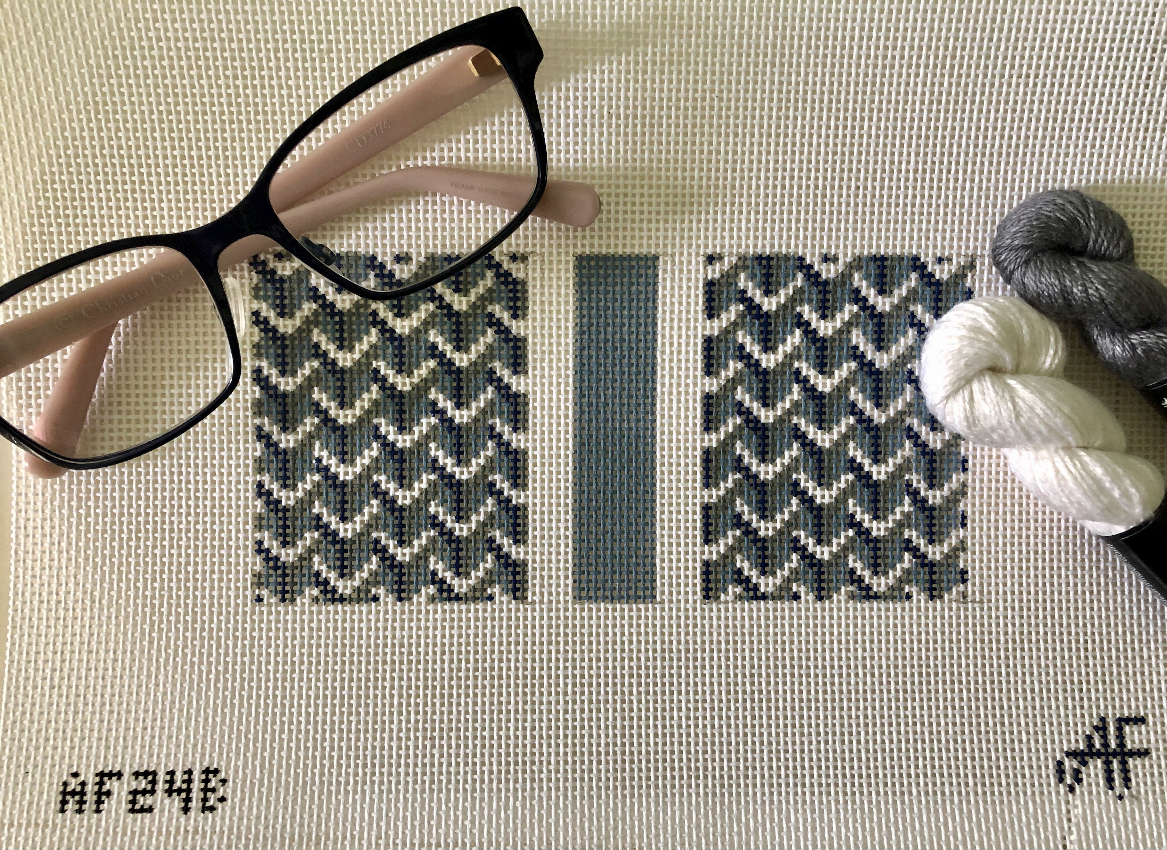 Y Pattern Eyeglass Case by Anne Fisher - multiple colors available