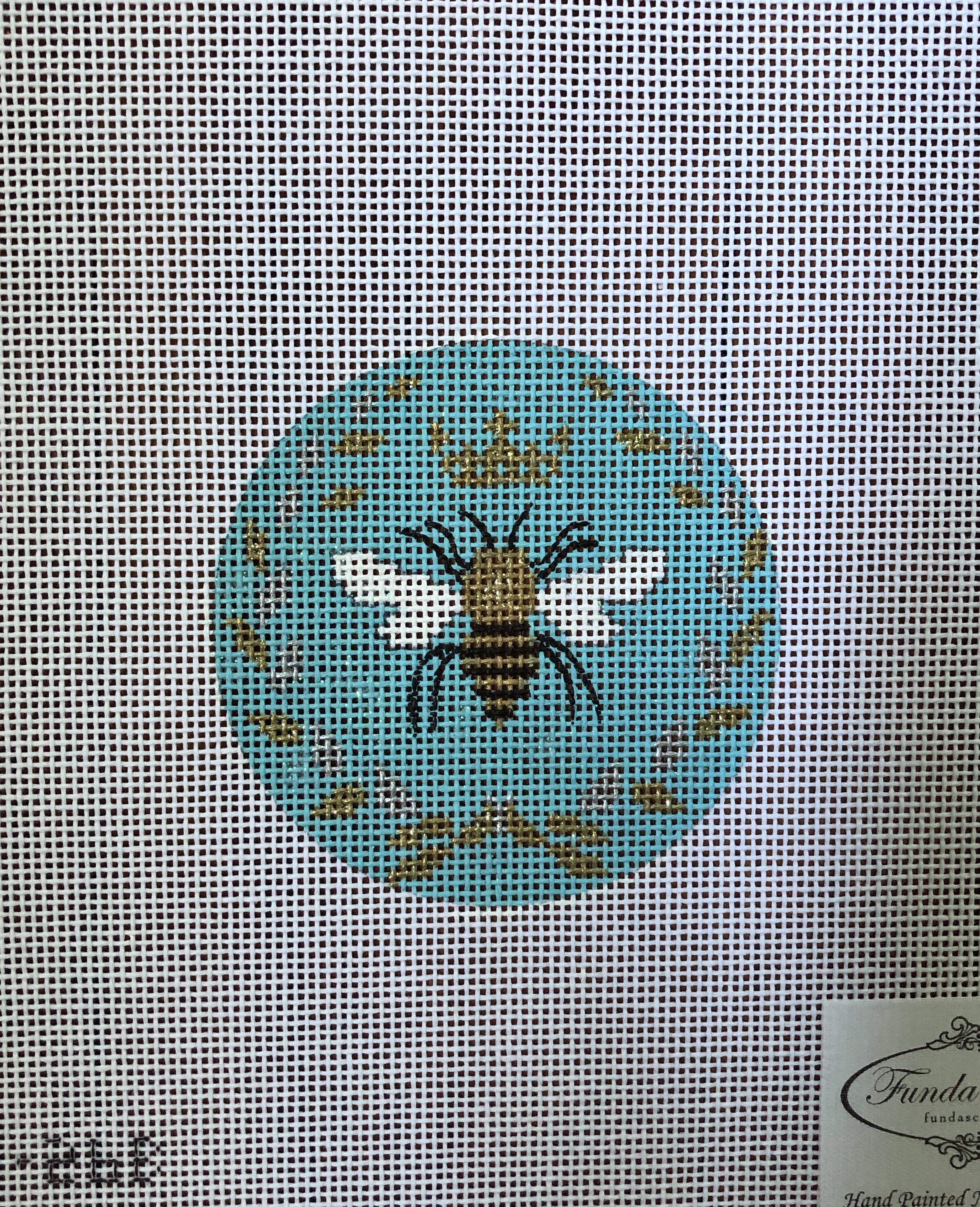 Queen Bee Round - Blue