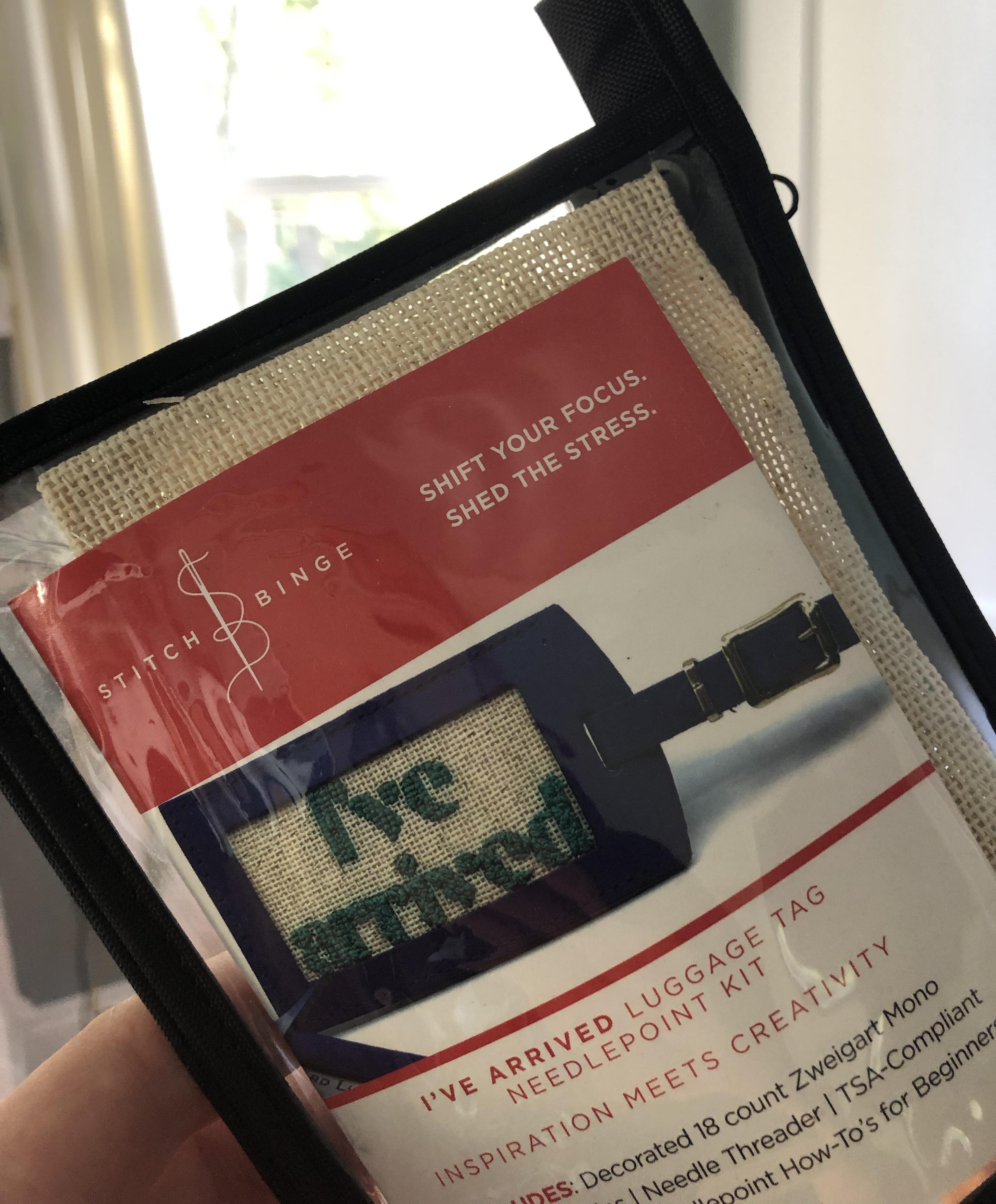 Stitch Bing I've Arrived Luggage Tag Kit