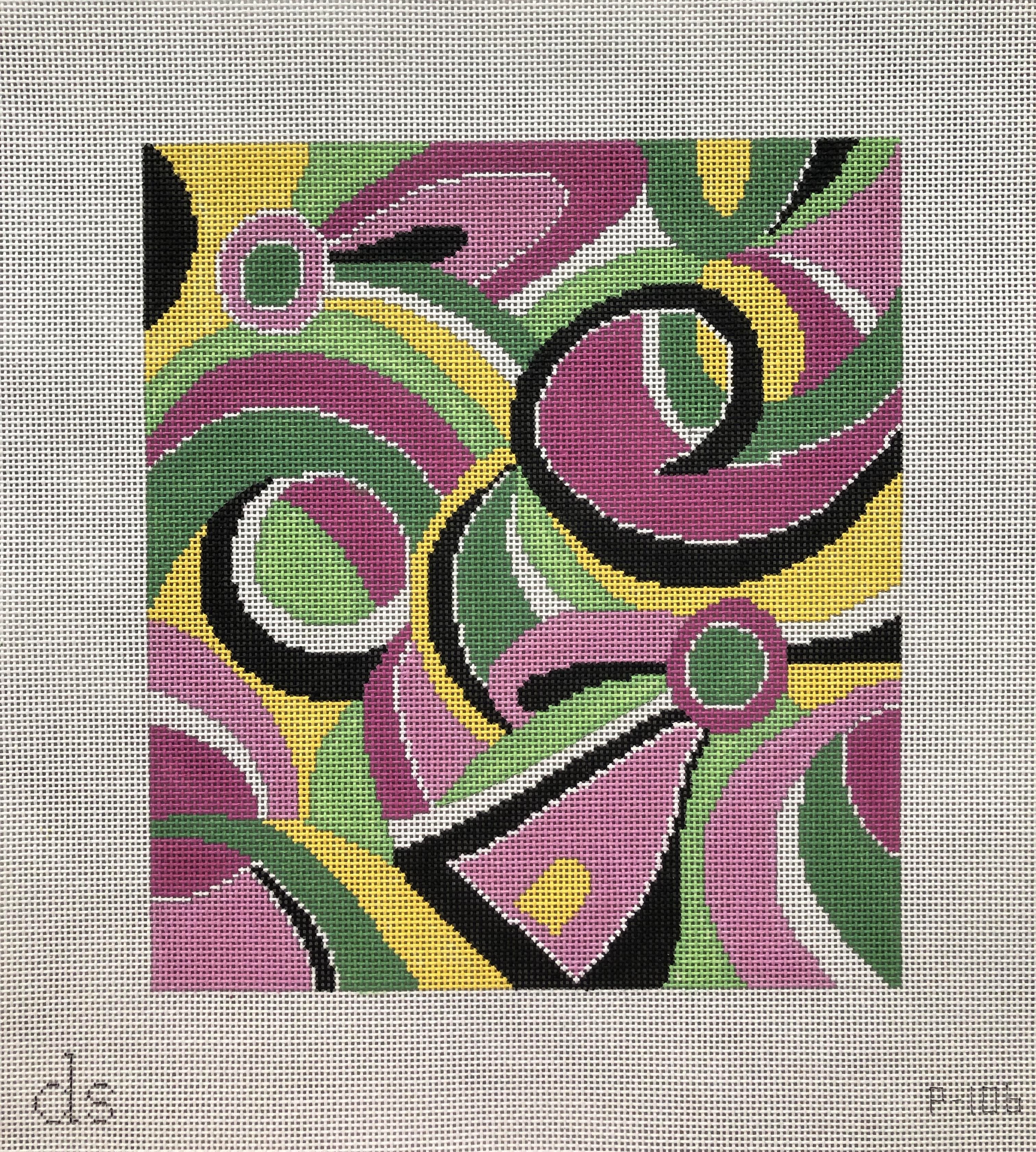 Doolittle Stitchery Pucci Print