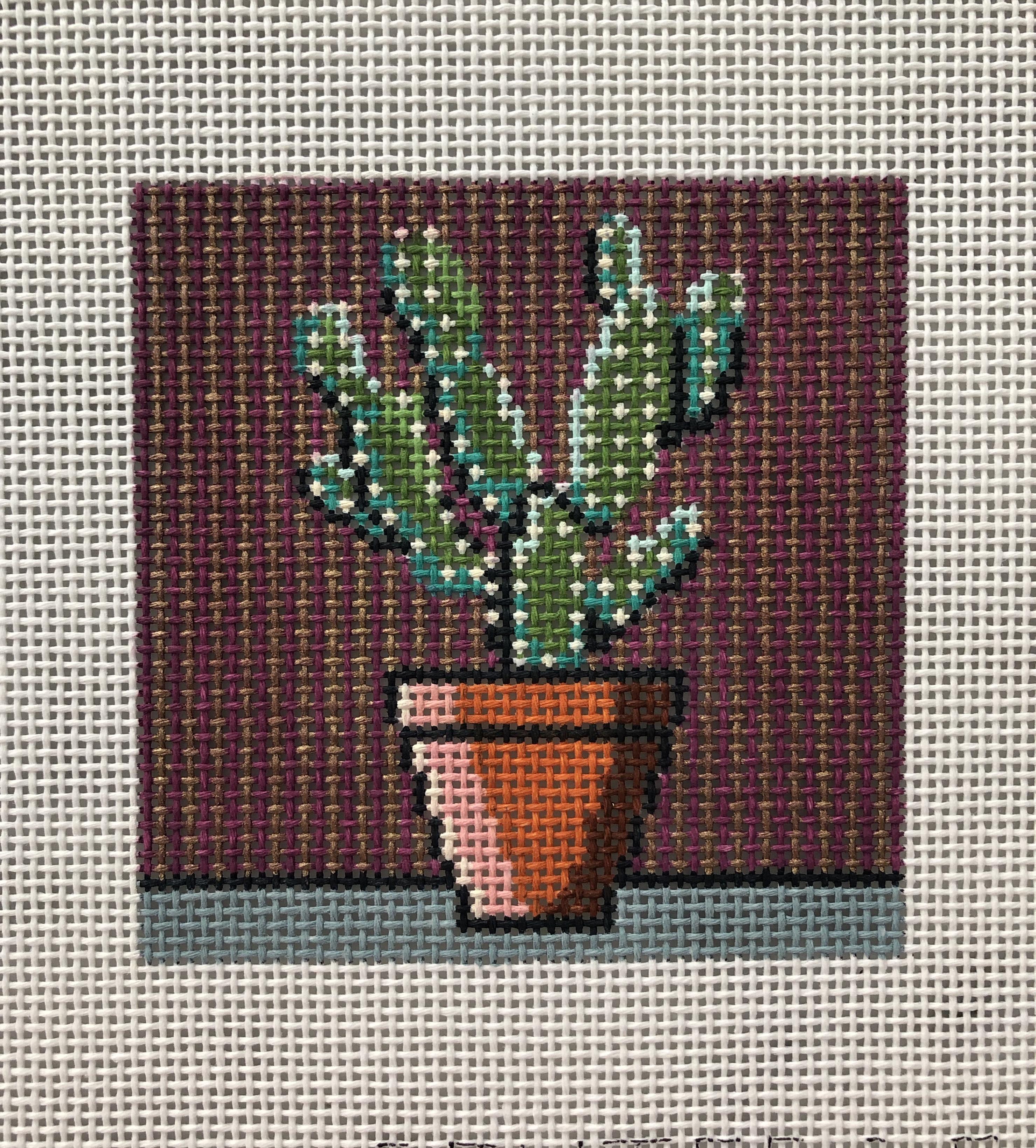 Pewter & Pine Cactus Square