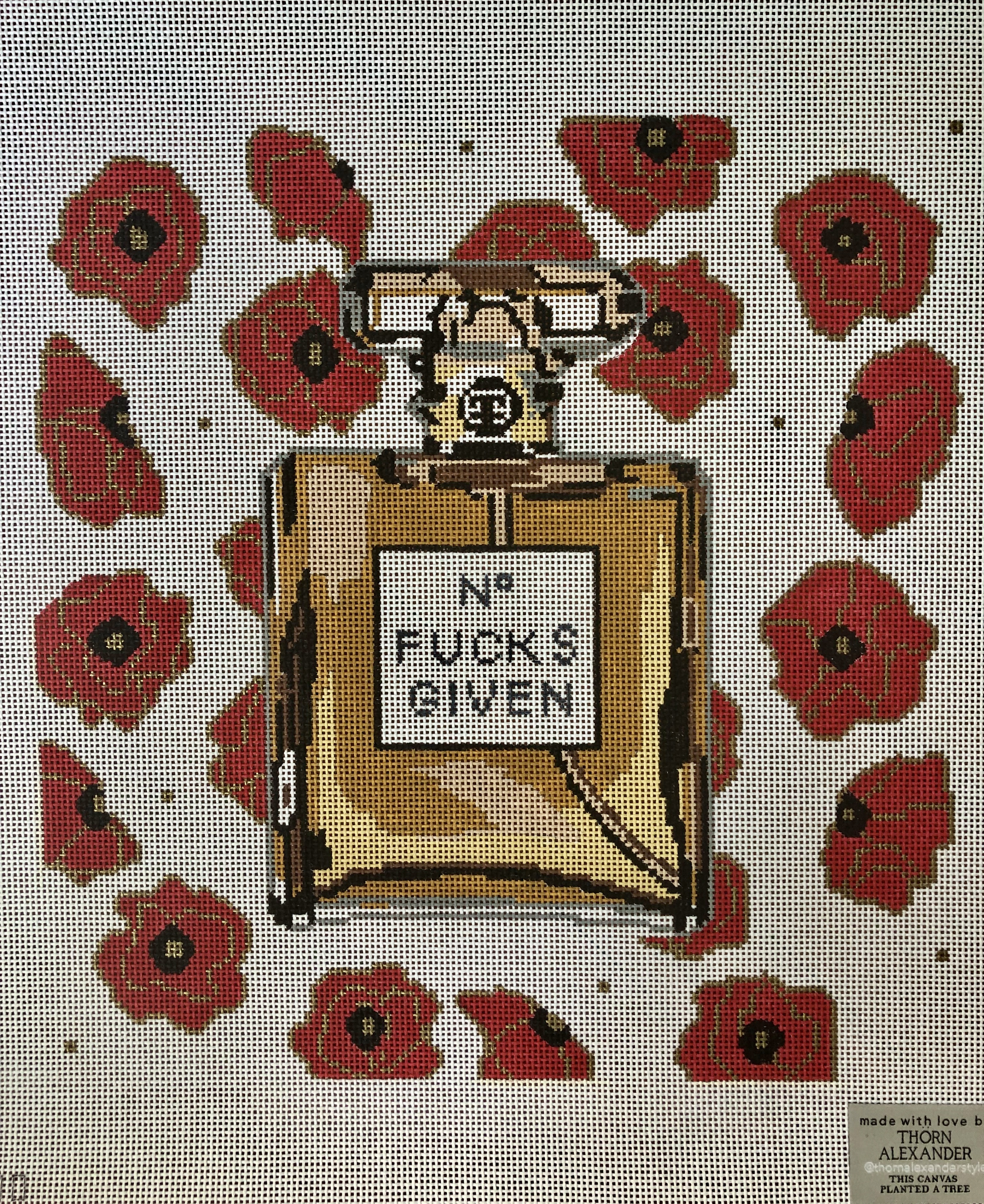 Thorn Alexander Poppy Perfume Bottle - Saucy Version