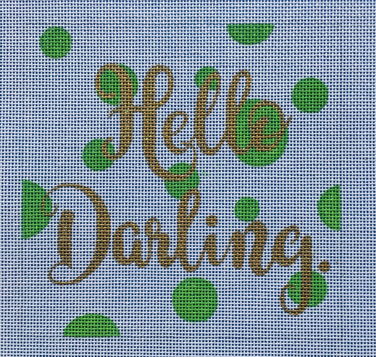 A Poore Girl Paints Hello Darling Square