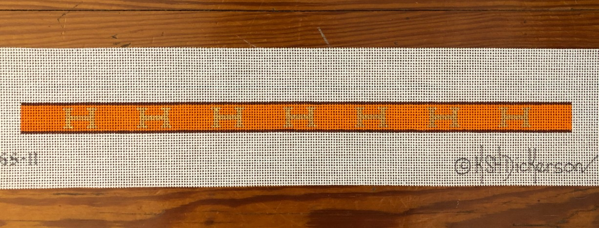 Kate Dickerson Hermes Cuff/Glasses Strap  - multiple H's