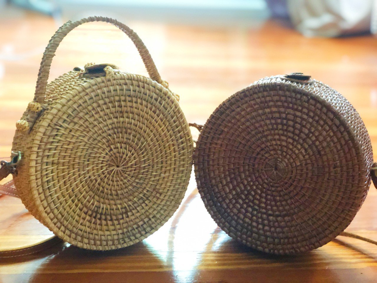 Wicker Purse - Round