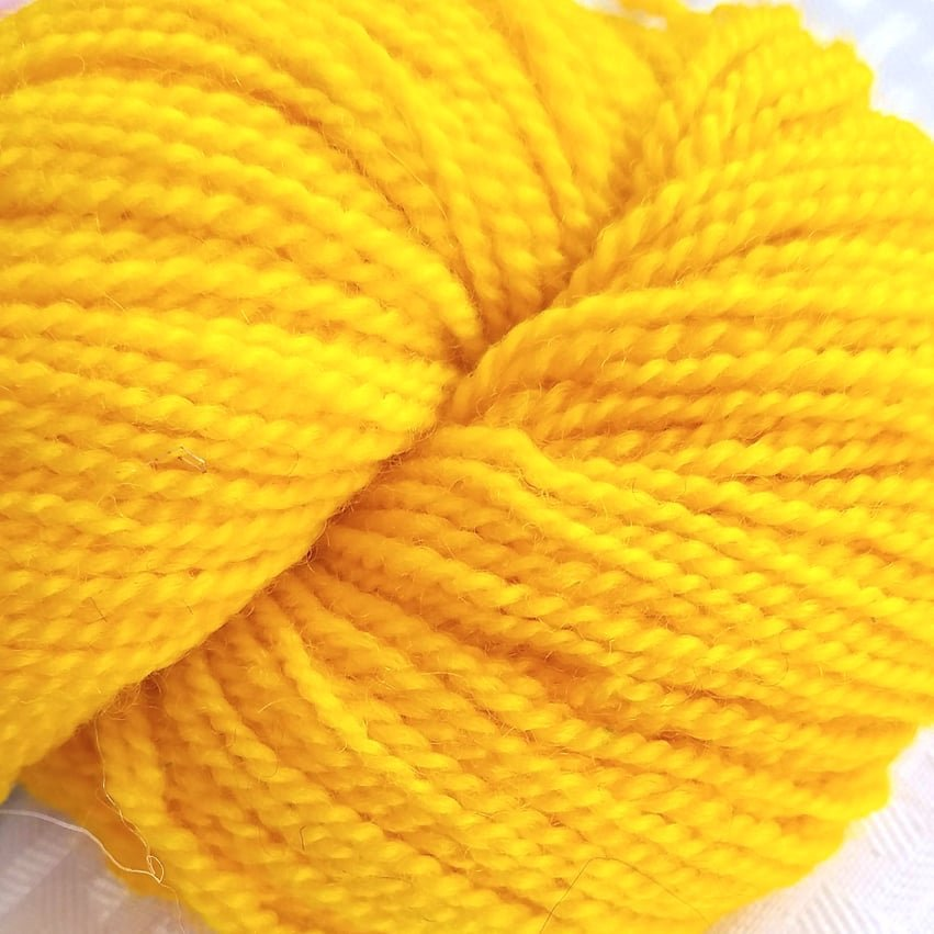 93 BFL Solid DK Electric Yellow