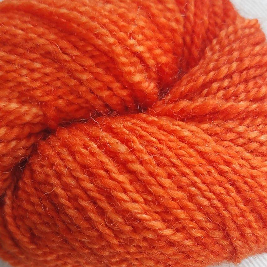98 BFL Solid DK Bright Orange